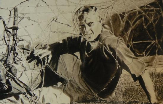 Steve McQueen by johnsy